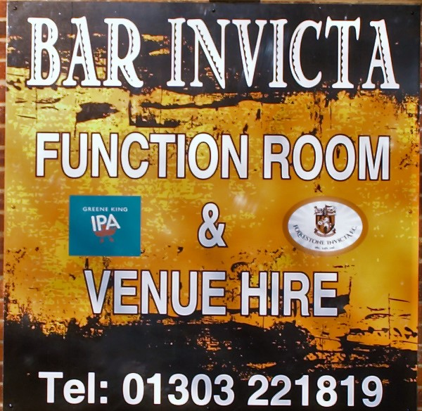Newly Refurbished 'Bar Invicta'