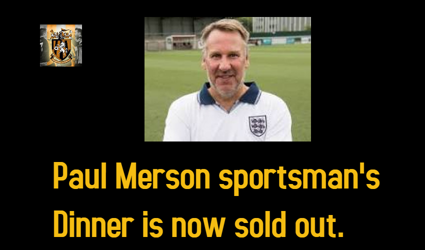 Paul Merson Dinner