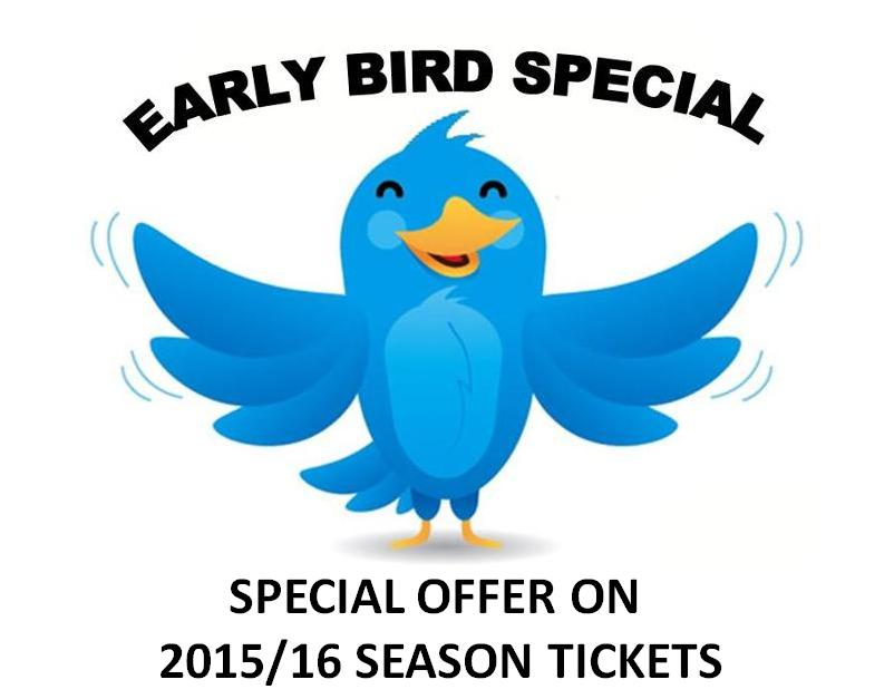 Season Tickets Early Bird