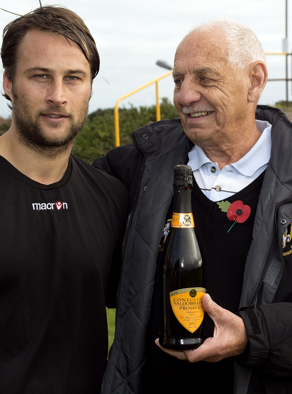 CURRENT LEGEND MEV REACHES 500 STARTS FOR FOLKESTONE CLUB